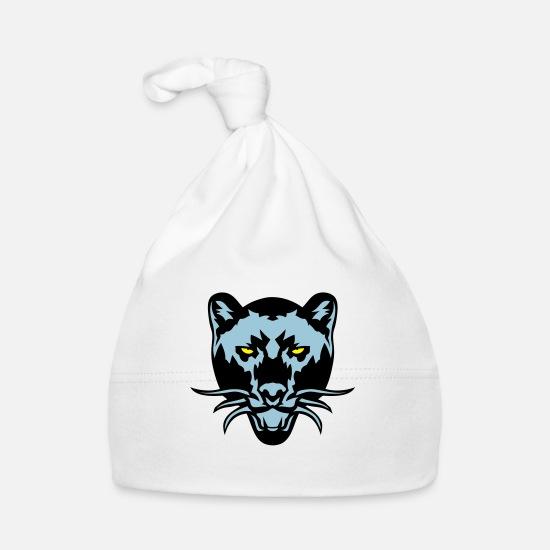 Black Panther Drawing Wild Animal Logo Baby Cap Spreadshirt