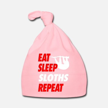 Indisposé EAT SLEEP SLOTHS REPEAT T-shirt - Bonnet Bébé