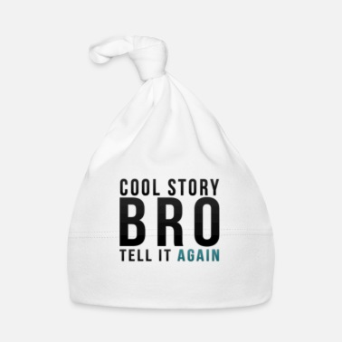 Tell It Again Cool Story! Tell It again! - Baby Cap