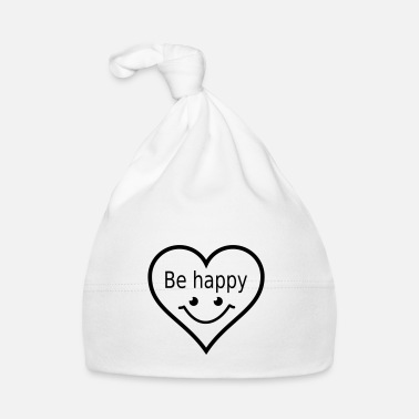 Illustrazione be happy - Cappellino neonato