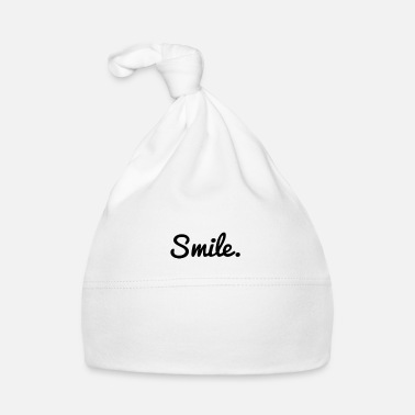 Cutting Idea Smile | Good mood design Cutting idea - Baby Cap