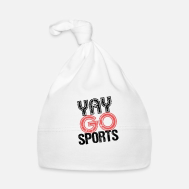 Ironía Yay Go Sports camiseta ironía - Gorro bebé