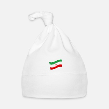 Space Travel Iran conquers the space astronaut flag - Baby Cap