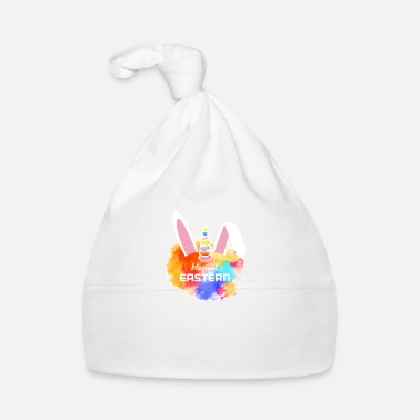 Merry Merry Magical Easter - unicorn bunny - Baby Cap