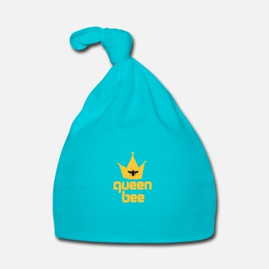 Bee Queen Bee Fancy and Cool Art Design - Baby Cap