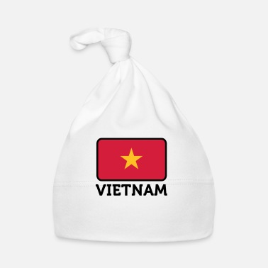 Long Drapeau national du Vietnam - Bonnet Bébé