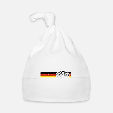 National Cykel nationale farver National Germany Gift - Babyhue