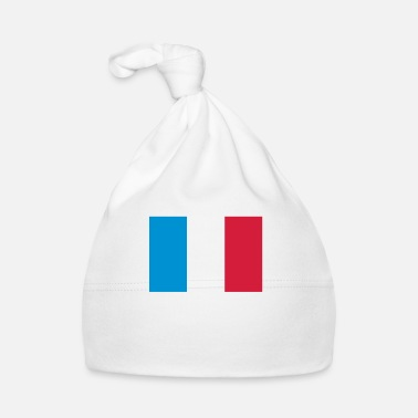 Démocratie Drapeau national de la France - Bonnet Bébé