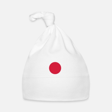 Japan Nationale Vlag van Japan - Muts voor baby's