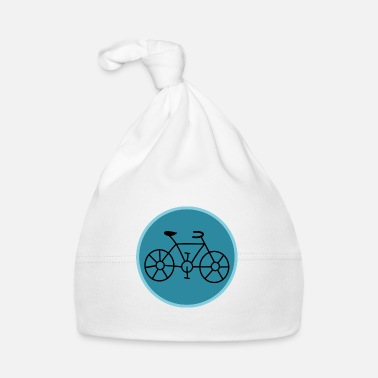 Bicyclette BIKE. CYCLING. GO GREEN. ECOLOGY.ENVIRONMENT. - Baby Cap