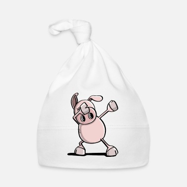 Sow Cool Dab Dance Pig - Dabbing Animals - Baby Cap