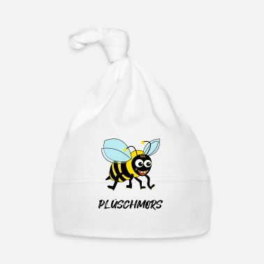 Low German Plüschmors Low German bee gift idea - Baby Cap