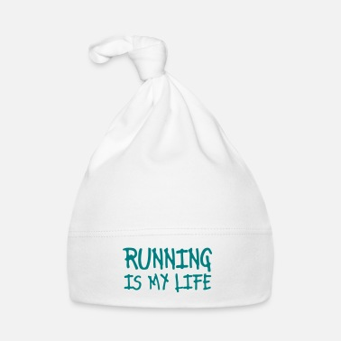 Correr running is my life - Gorro bebé
