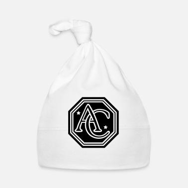 ac monogram letters - Baby Cap