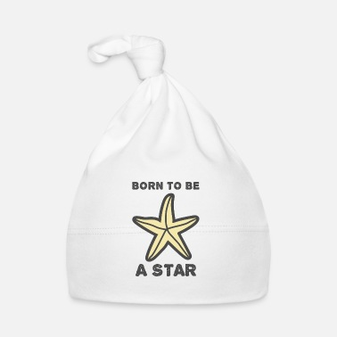 Born To Be A Star Seestern born to be a star - Babymütze