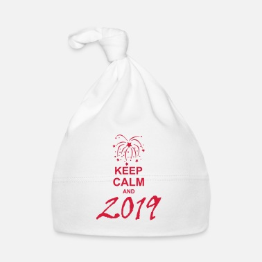 Keep Calm keep calm and 2019 kg10 - Bonnet Bébé