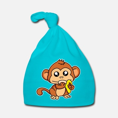 Meal Meal monkey - design - Baby Cap