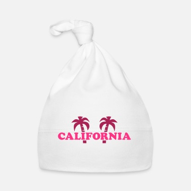 Hollywood Heuvels Californië (twee palmbomen) - Baby muts