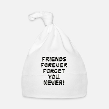 Friends Forever BFF - Baby Cap