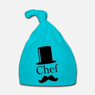 Like A Sir Like a Chef / Like a Sir / Mustache / Moustache 1c - Cappellino neonato