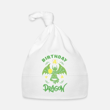 Dragón Dragon Dragon Gift 4th Birthday Shirt Boy - Gorro bebé