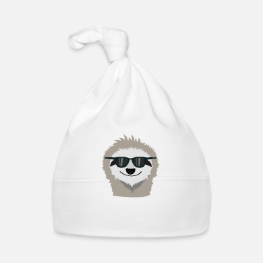 Sunglasses Sloth with sunglasses - Baby Cap