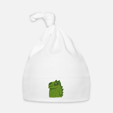 Illustration petit crocodile mignon - Bonnet Bébé