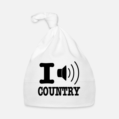 Country I music country / I love country - Cappellino neonato
