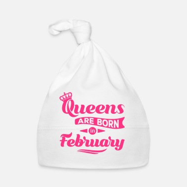 Kumppani Queens are born in may february Geburtstag Februar - Vauvan myssy