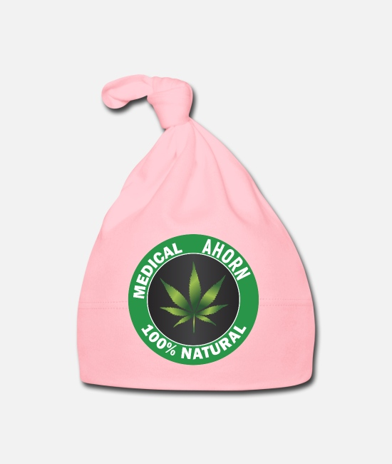 Hemp Baby Caps - Medical MAPLE 100% Natural | The hemp alternative - Baby Cap light pink