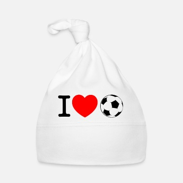 Ballon De Foot J'adore le football - Bonnet Bébé