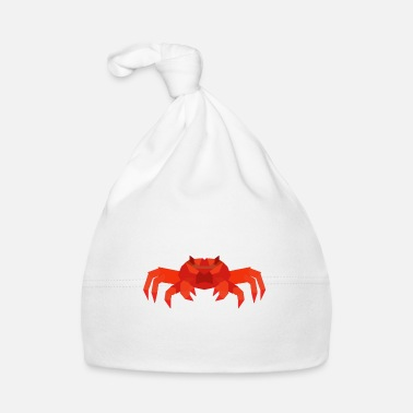 Crab Cancer polygon star sign - Baby Cap