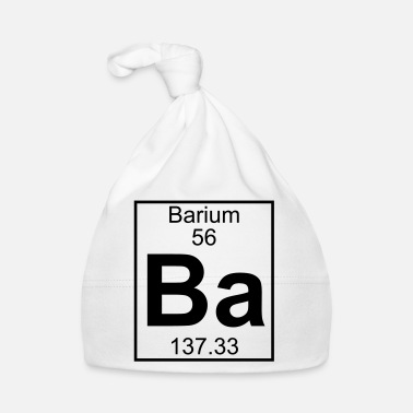 Barium Element 056 - Ba (barium) - Full - Babymütze