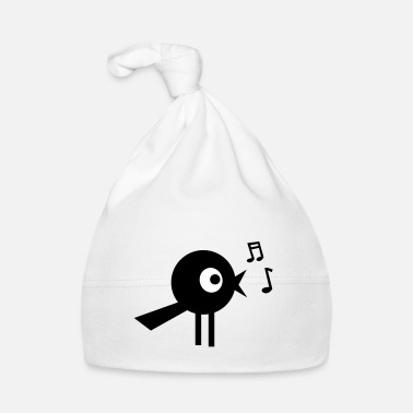 Audio singing bird - Cappellino neonato