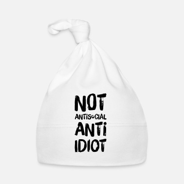 Demo NOT ANTISOCIAL ANTI IDIOT - I hate people - Baby Cap