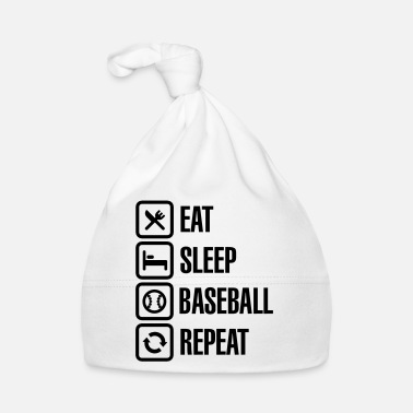 Softboll Eat, Sleep, Baseball / Softball, Repeat - Babymössa