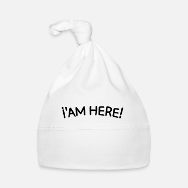 Cornes i'am here Tee shirts - Bonnet Bébé