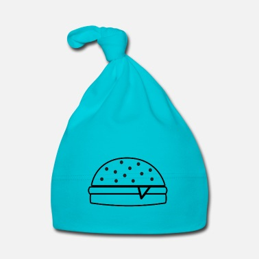Fast Burger food delicious fast food gift idea - Baby Cap