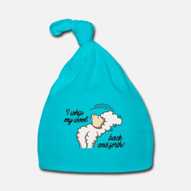 Hard Rock Rocking llama lama gift headbangging idea joke - Baby Cap