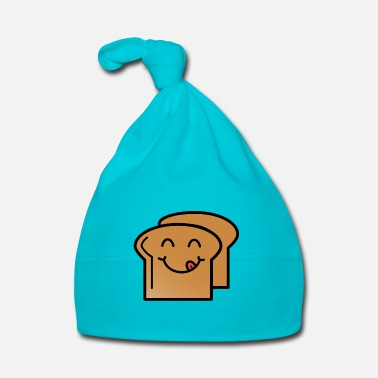 Laugh Toast Laughing Gift Idea Food Kids Delicious - Baby Cap