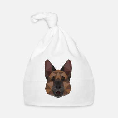 Pet German shepherd geometric gift idea pet - Baby Cap