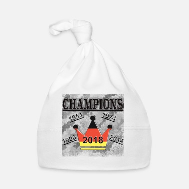 World Champion Champions Germany Shirt Sport World Cup Gift - Baby Cap
