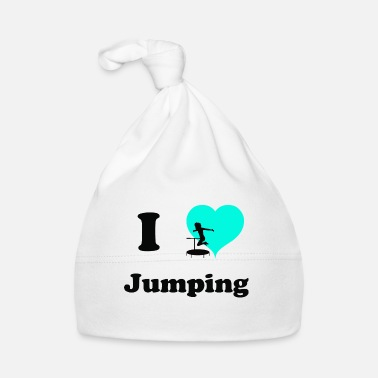 Name Day jumping trampoline girl jumping jump gift - Baby Cap