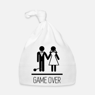 Stag Do Game over - Stag do - Hen party - Funny - Baby Cap