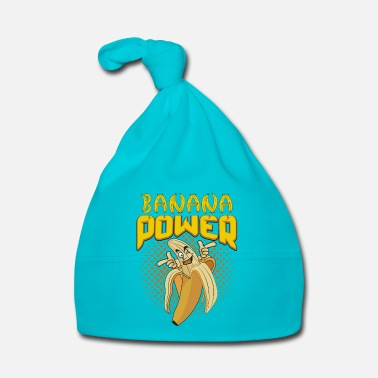 Banan Banan Power White - Babymössa