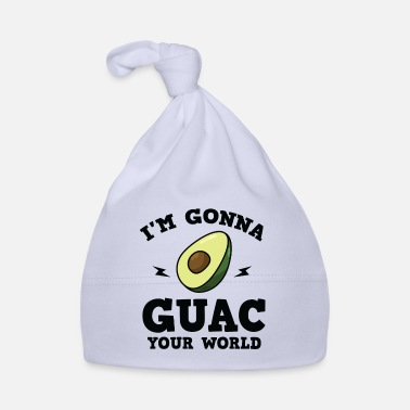 Common Tropical Fruits Cool I'm gonna GUAC your world T-Shirt - Baby Cap