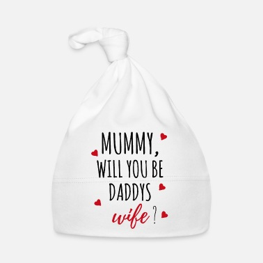 Proposal Marriage proposal request mummy gift idea - Baby Cap