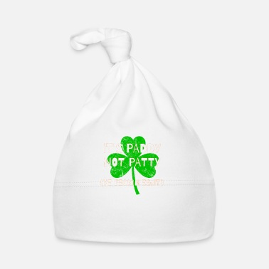 Eejit Feckin Eejit Distressed for St Paddy's Day - Baby Cap