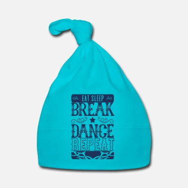 Breakdance Break Dance Breakdance Breakdance Breakdance - Cappellino neonato