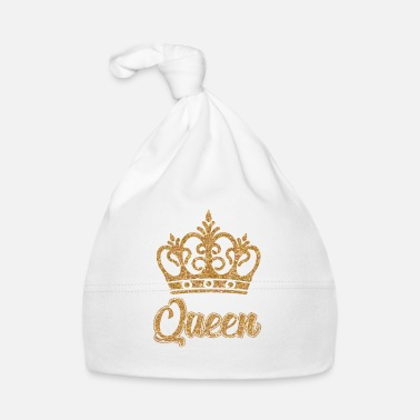 Queen QUEEN QUEEN CROWN - Baby Cap